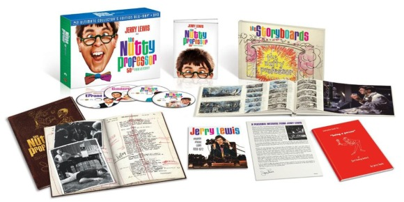 The Nutty Professor 50th_contents