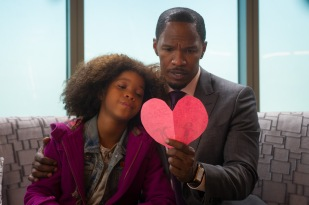 Quvenzhane Wallis and Jamie Foxx