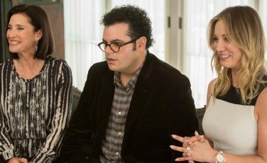 Josh Gad;Kaley Cuoco;Mimi Rogers