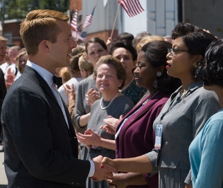 "John Glenn (Glen Powell) meets the ""computers,"" the female mathematicians with whom he would come to trust his life."
