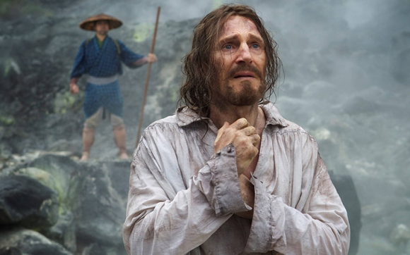 Liam Neeson plays a 17th century Portuguese priest on a difficult mission in 'Silence.'