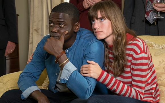 Daniel Kaluula and Allison Williams star in 'Get Out.' sinister reason for invitation.
