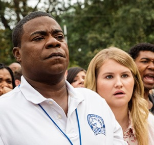 Tracy Morgan & Jillian Bell