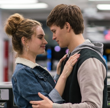 Ansel Elgort;Lily James